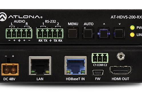 HDBaseT Receiver and Scaler