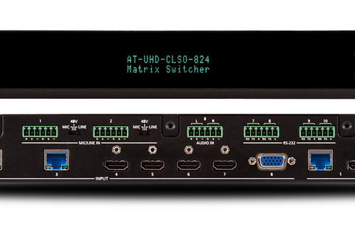 4K/UHD 8×2 Multi-Format Matrix Switcher