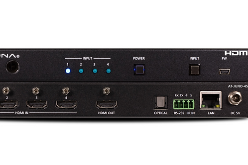 4K HDR Four-Input HDMI Switcher