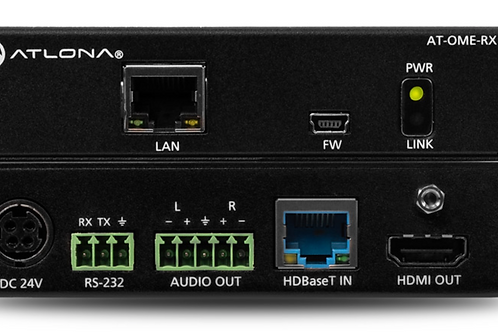 HDBaseT Receiver for HDMI with Audio