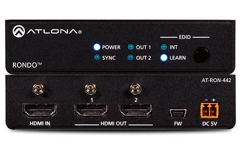 Two-Output HDMI Distribution Amplifier