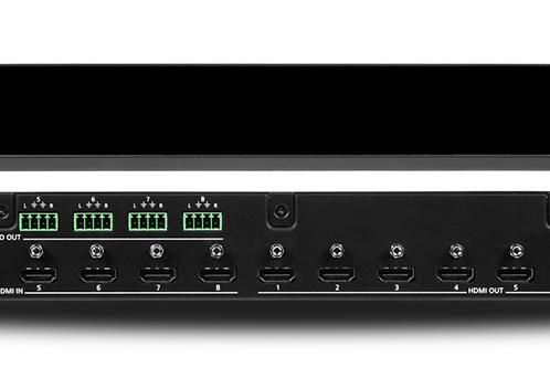 4K HDR 8×8 HDMI Matrix Switcher