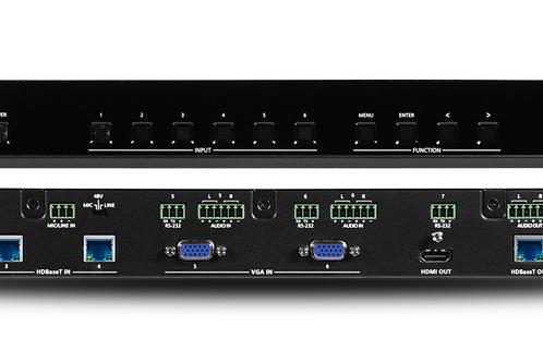 4K/UHD Six-Input Multi-Format Switcher