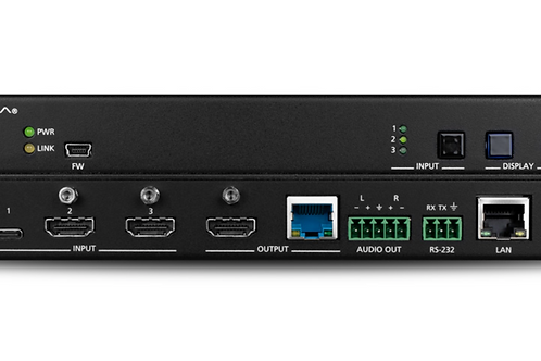 Three-Input Switcher for HDMI and USB-C