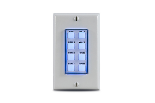 8-Button Network Control Panel