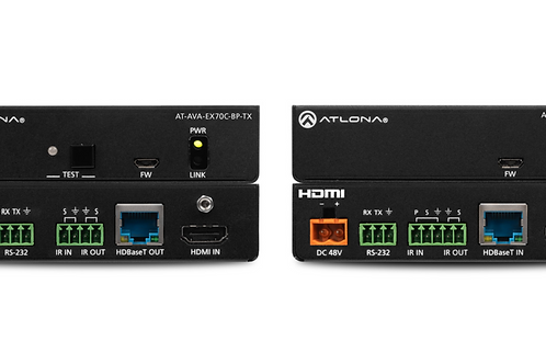 Avance™ 4K/UHD HDMI Extender Kit with Control and Bidirectional Remote Power