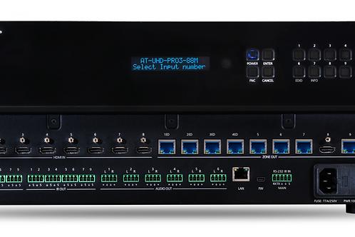 4K/UHD 8×8 HDMI to HDBaseT Matrix Switcher