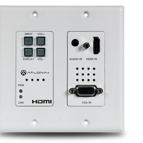 Wallplate Switcher (HDMI and VGA)