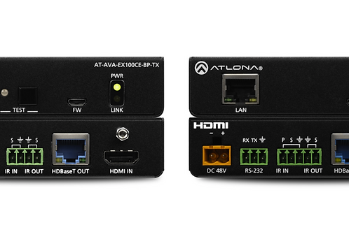 Avance™ 4K/UHD HDMI Extender Kit with Ethernet, Control, and Bidirectional Remot