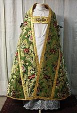 Restauración ornamentos litúrgicos