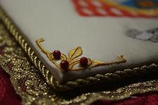 Palias bordadas/ Ornamentos litúrgicos