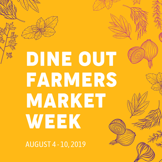 aim dine out farmers market week