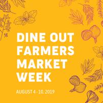 aim dine out farmers market week