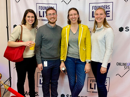 Founders Live Pitch was a Success