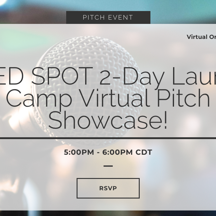Past: SEED SPOT 2-Day Launch Camp Virtual Pitch Showcase!
