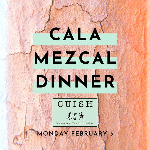 mezcal dinner