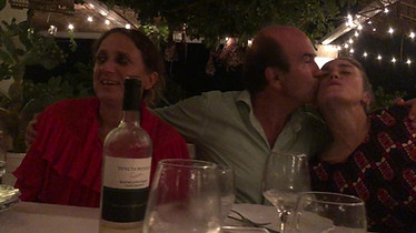 italian family dinner at masseria potenti