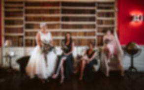 Protea, bridal party flowers, Iscoyd par