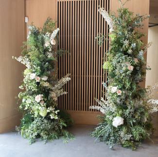 'Jewel Romance' Floral installation