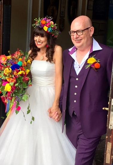 British wedding flowers - Jacqui O