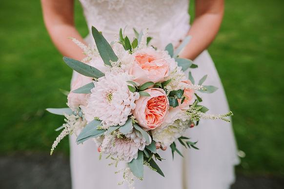 Chrysanthemum bridal bouquet