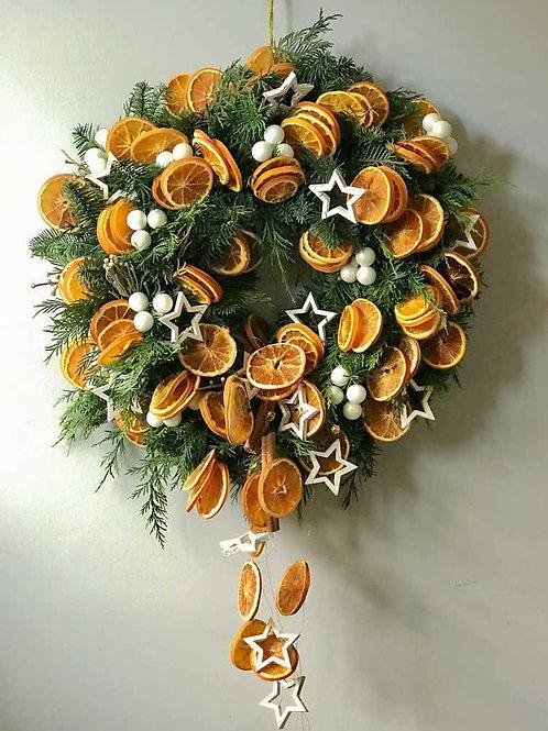 'Home Sweet Home' Door Wreath
