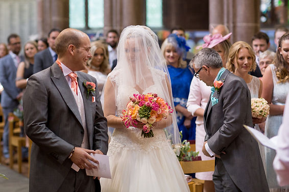 Mr and Mrs O'Neil - Church Wedding - Nor