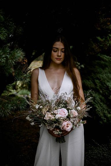 Jacqui O dried wedding bouquet - Emmy Sh