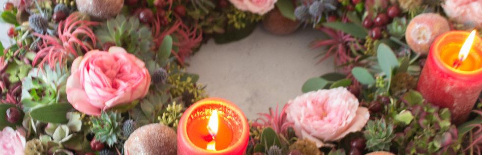 Christmas Spirit advent wreath