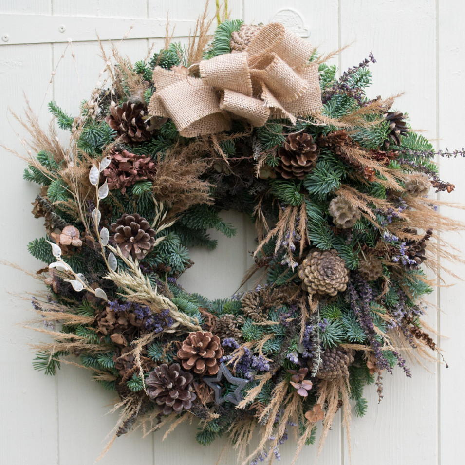'Lavender & Olive' Door Wreath