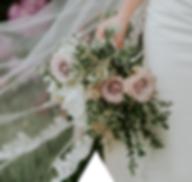 rose bride bouquet, cheshire