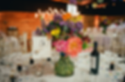 Organic wedding table centrepieces - Jacqui O