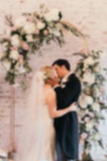 Sarah & Greg-Jacqui O - wedding flower arch - dorfold hall