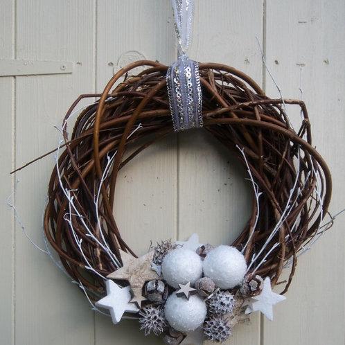 'Northern star' door wreath