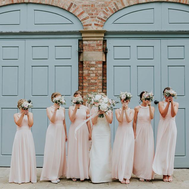 Sarah & her bridesmaids