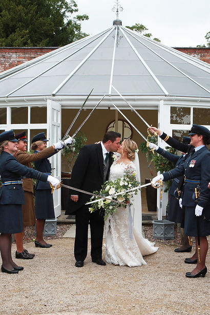 Floral salute, Jacqui O - wedding flowers