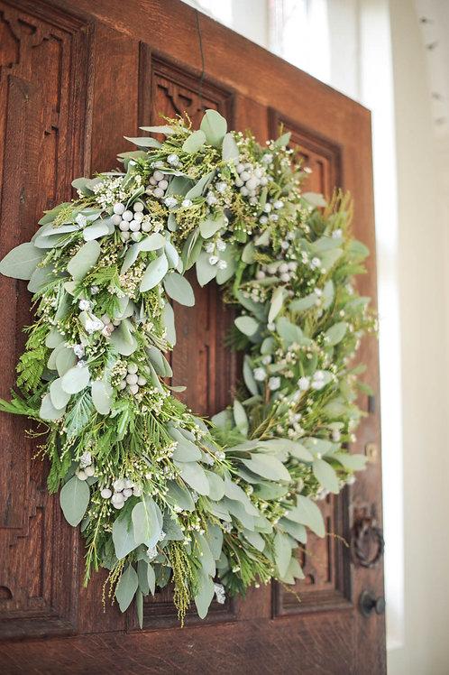 'Green Ritual' Door Wreath