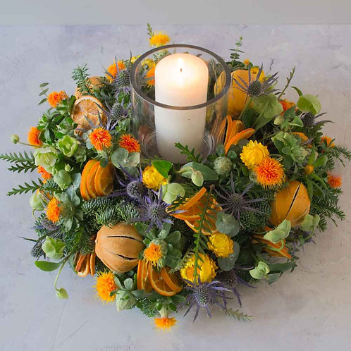 'Home Sweet Home' table arrangement