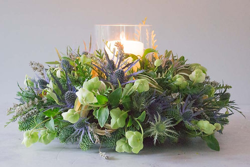 'Lavender & Olive' Table decoration