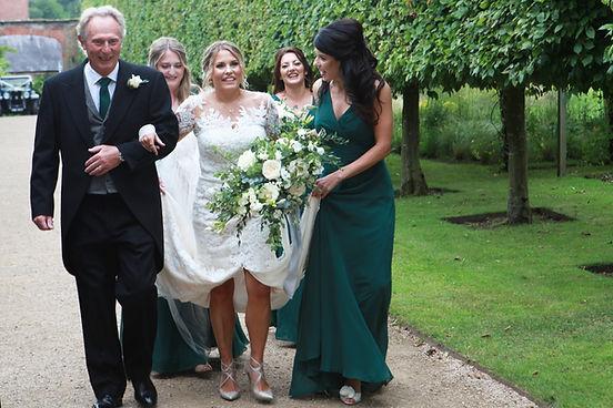 Jacqui O bride bouquet, Combermere Abbey - Cheshire