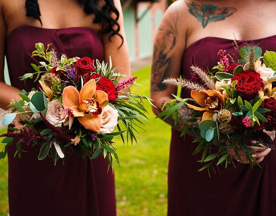 bridesmaid orchid