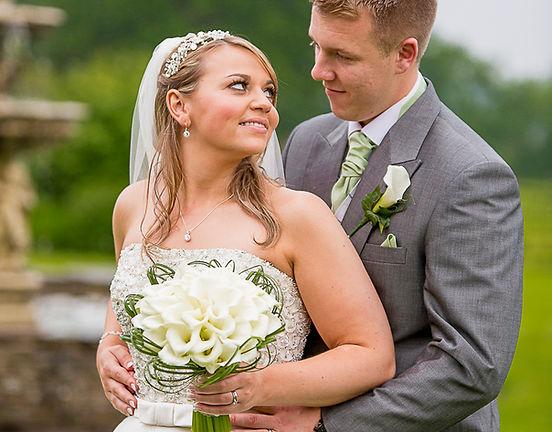 Calla bouquet at Rookery Hall Wedding Fl