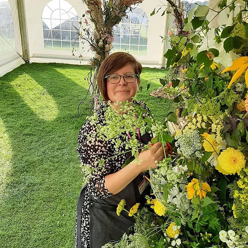 Jacqui O- cheshire floral designer