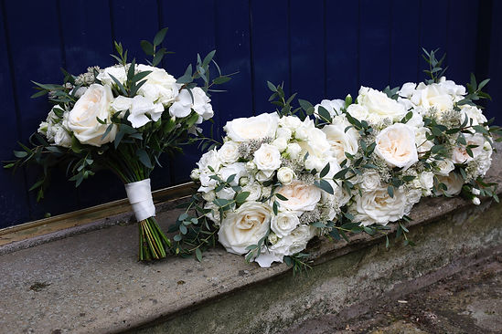 BRIDESMAID BOUQUETS, COMBERMERE ABBEY Floral salute, Jacqui O - wedding flowers