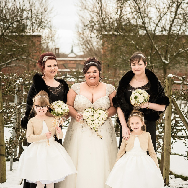 Kirsty and her maids