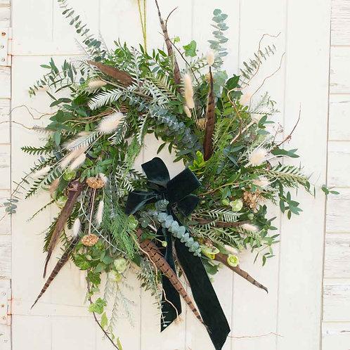 Celebrity 'Country Pursuit' Door Wreath