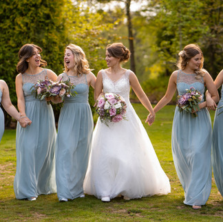 Sarah & bridesmaid