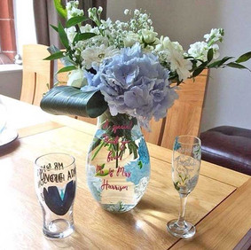 Vases and flutes Customer Photo