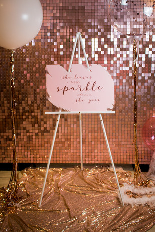 White wooden easel and/or Acrylic Sign