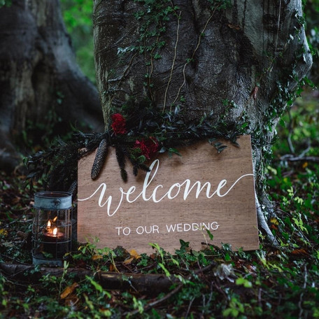 Pretty & Punk Wooden Welcome Sign.jpg